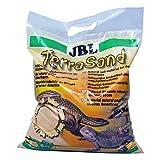 JBL 710180 Terrasand Sustrato para Terrarios Desérticos, Amarillo, 7.5 kg