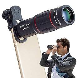 Kaufen Apexel Universal 18X Clip-On Tele Teleskop Kamera Handy Zoom Objektiv für iPhone X / 8 7 Plus / 6S Samsung Galaxy S8 S7 Huawei und die meisten Android Smartphone