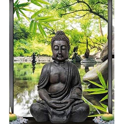 MAIYOUWENG Puzzle Premium da 1000 Pezzi Progettato Appositamente per Gli Adulti- Buddha E Zen...