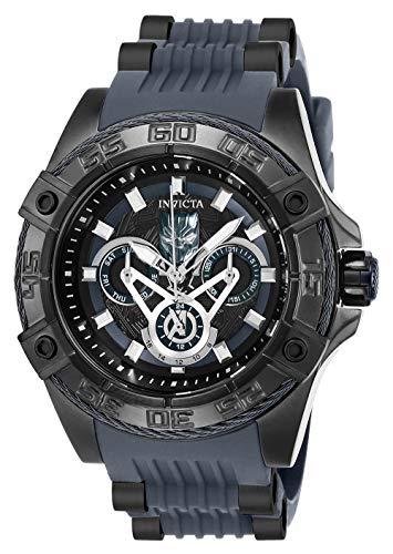Invicta 27029 Marvel - Black Panther Unisex Uhr Edelstahl Quarz schwarzen Zifferblat