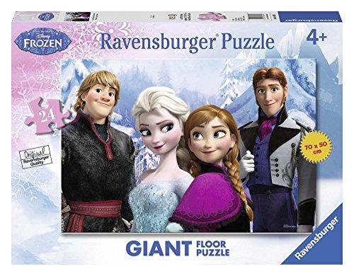Ravensburger 05438 Frozen Giant Floor Puzzle, 24 Pezzi