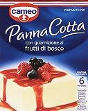 Cameo Panna Cotta con Guarnizione ai Frutti di Bosco - 107 gr