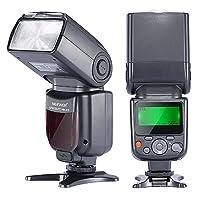 Professionale Neewer Photo E-TTL Flash per fotocamere Canon Un flash facile da usare, con caratteristiche professionali ed una straordinaria qualità costruttiva. Affidabile e divertente da usare, ad un prezzo molto più basso rispetto agli altri. 5...