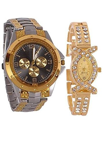 Gypsy Club Analogue Multicolour Dial Couple Combo Unisex Watch - GCM166