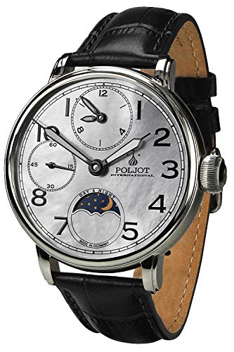 Poljot International Herrenuhr Doubletimer 9120.2940335