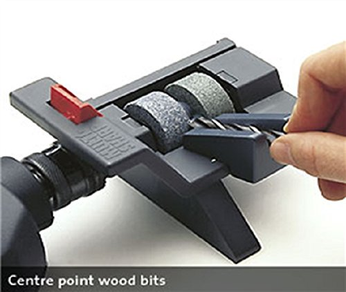 Multi-Sharp 2001 Broca Universal y Afilador de Herramientas de 3-13 mm de Diámetro (HSS, Madera Plana, Mampostería, SDS-Plus y Brad-Point)