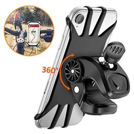 Vobon Supporto Bici Smartphone, Porta Cellulare Bici 360° Rotabile Universale Supporto Telefono da Bici e Moto per Bicicletta Ciclismo, GPS Nacigatore e Altri Dispositivi Elettronici 4.5″- 6.5″