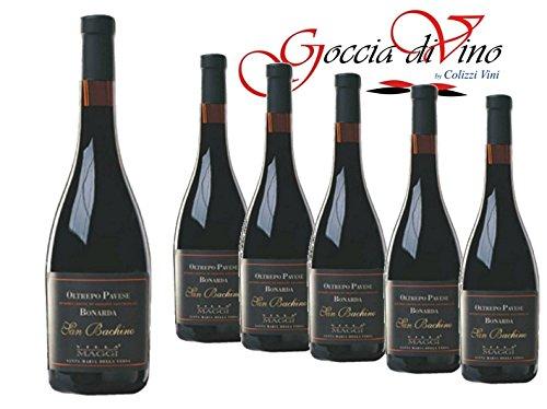6 Bottiglie BONARDA O.PAVESE SAN BACHINO RISERVA 750 ML VILLA MAGGI