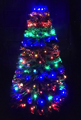 Christmas Concepts 150 Multi Led Chasing Christmas Net Light - Per alberi di Natale da 4 / 5ft