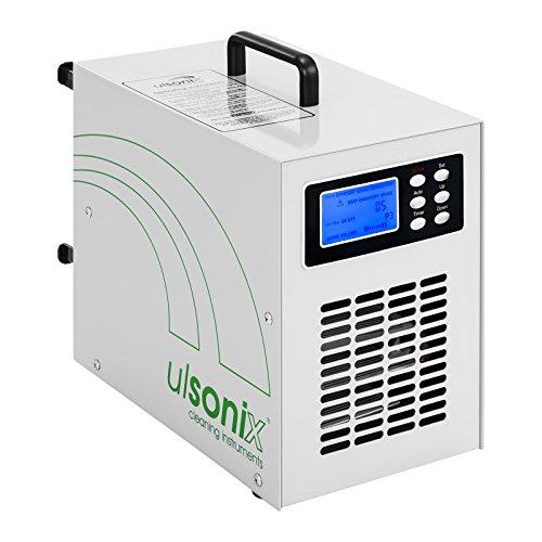 Ulsonix AIRCLEAN 20G Generatore Di Ozono Industriale (20.000 mg/h, 170 W, Timer, Telecomando incl.) Bianco