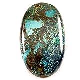 Gems&JewelsHub 56CTS 100% naturale designer Iron Azurite cabochon ovale gemma sciolto
