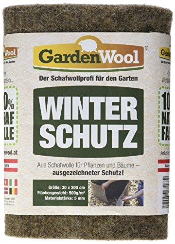 Gardenwool gw-swfg53020Protezione Invernale, Colore: Grigio, 200x 100x 0.5cm, 500g/m²