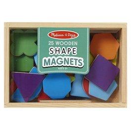 Melissa & Doug – 25 Magneti di Forme di Legno