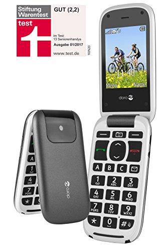 Doro PhoneEasy 613 Téléphone Portable à Rabat au Design élégant avec Appareil Photo 2MP, écran et Touches Larges, Bouton d'appel d'urgence 6