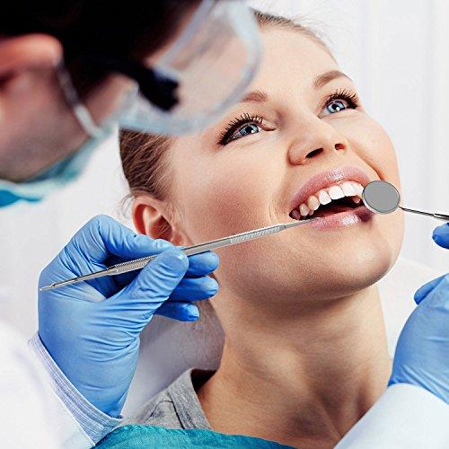 Xcellent Global Kit de 5 outils médicals d'hygiène dentaire de grande qualité, instruments professionnels de dentiste en Acier inoxydable av... 27