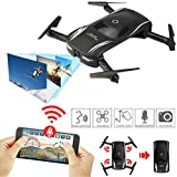EACHINE E52, Drone Pieghevole con Telecamera Videocamera 0.3MP WiFi FPV App Controllo 2.4G RC 6-Axis Headless Mode Toys Micro Nano Quadcopter RTF