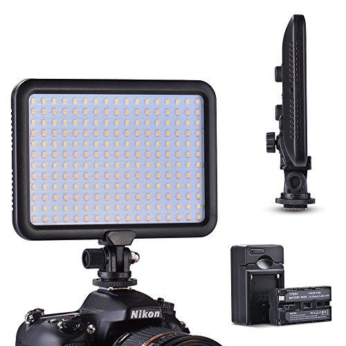 Tycka Ultra Sottile 204 Luce LED Pannello Lampada, con batteria 2200mAh e caricabatterie, 1300lm...