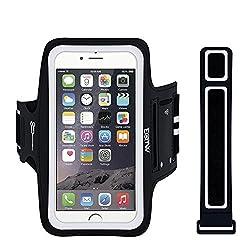 Kaufen EOTW Sportarmband Handyhülle universell Passend für Huawei P20, Samsung Note 4, Sony Xperia Z5 usw, Handytasche für Laufen und Joggen (5,5 Zoll, Schwarz)