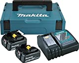 Makita 197624-2 Power Source Kit 18V 5 Ah Schwarz