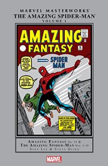 Amazing Spider-Man Masterworks Vol. 1 (Marvel Masterworks) by [Lee, Stan]