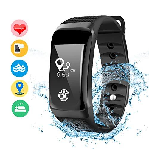 DAMIGRAM Fitness Tracker, Orologio Fitness Activity Tracker Cardio Impermeabile IP67 Bluetooth 4.0...