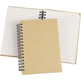Quaderno con spirale cm, 1 pz, marrone