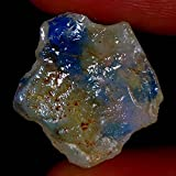 06.60CTS 100% naturale opale australiano gioco di colore Facet Rough Specimen Gems