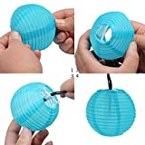 Uping Guirlande Lumineuse Lampion Chaîne Solaire 20 LED 4.5 mètres...