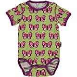Maxomorra Baby Kurzarm Body BUTTERFLY 74