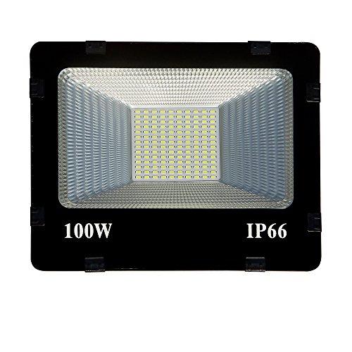 Generic Thin Slim Waterproo LED Flood Outdoor Light (White -100 Watt)