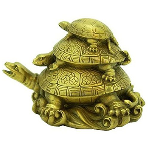 Moira 3 Tier Family Feng Shui Tortoise