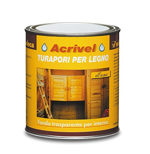 Veleca 8002417050656 Acrivel, Turapori, Trasparente