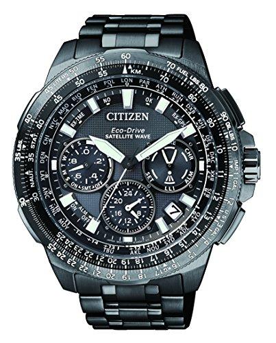 Citizen Orologio da uomo Satellite Wave Promaster Sky Cronografo al Quarzo Titan cc9025-51E