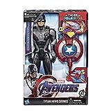 Hasbro Marvel Avengers Titan Hero Power FX Capitan America, Multicolore, E3301103