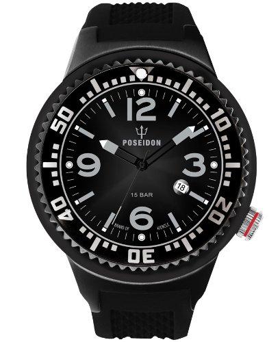 Kienzle K2031043243-00387 - Orologio da polso uomo, silicone, colore: nero