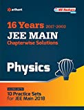 Chapterwise Solutions Physics JEE Main 2018