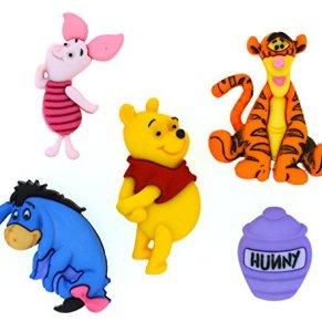 Dress It Up Licensed Embellishments-Disney Winnie The Pooh