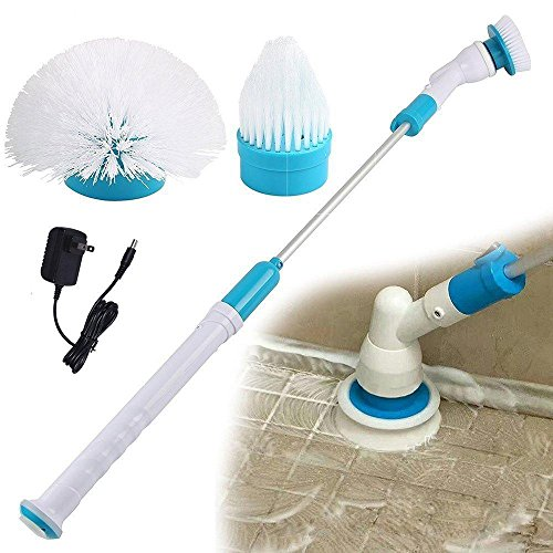 WeeDee Hurricane-Bürsten-Mop Scrubber Badewanne Fliesen Wiederaufladbare Startseite Handbodenreiniger Pinsel Cordless