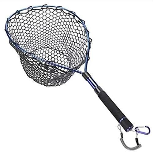 Pesca a Mosca, Trout Area, Guadino da Trout Area, Street Fishing e BassFishing con Rete gommata ed aggancio Cintura con calamita e moschettone
