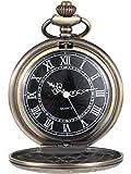 Caratteristiche: La cassa e la catena sono in lega, l'orologio da taschino è ben realizzato, quindi è alla moda e classico.  Dimensione (appross.): Diametro di un orologio da taschino in metallo: 4,6 cm/ 1,8 pollici, misura piccola per un facile tras...