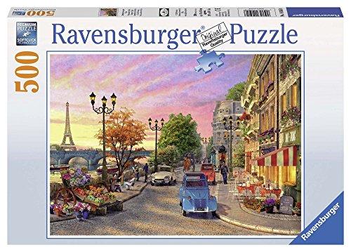 Ravensburger 14505 - Serata a Parigi Puzzle, 500 Pezzi