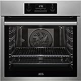 AEG bes331111m Electric Oven 72L 2780W A schwarz, Edelstahl–Ofen (Medium, Electric Oven, 72L, 2780W, 72L, 2780W)