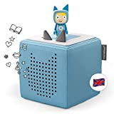 Tonies Starterset: Toniebox Blue + 1 Creative Tonie - Story-Player and Music-Player for Kids - Best Toy For Boys and Girls Age 3-7