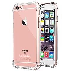 Kaufen iPhone 6 Plus / 6S Plus Handyhüllen, Jenuos Handyhülle Hülle Schutzhülle Silikon Transparent Crystal Clear Durchsichtige TPU Bumper Case Cover für iPhone 6S Plus / 6 Plus 5.5