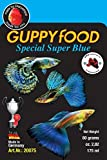 Comida para peces guppy color azul - Guppyfood Special Super Blue 80g
