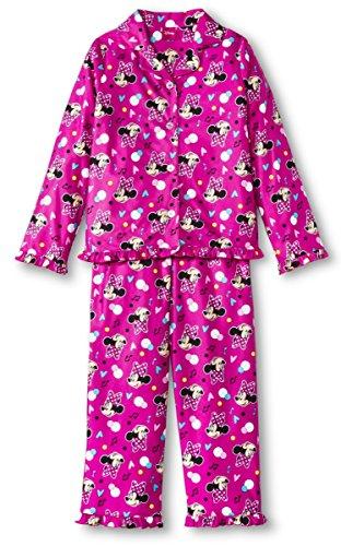 Disney BIG Girls 'Minnie Mouse juego de funda nórdica 2piezas Juego de pijama - Rosado -