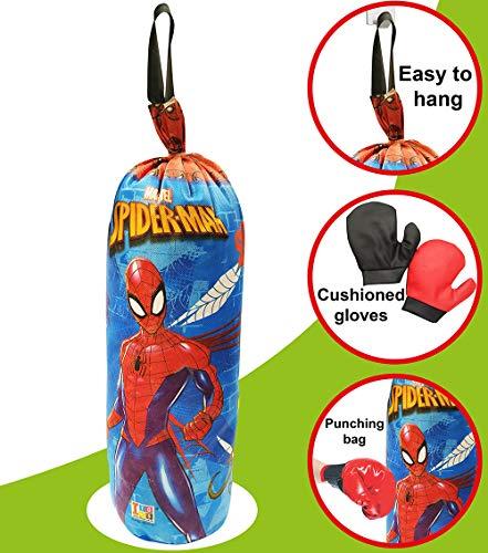 Marvel spider man Boxing set for kids included gloves