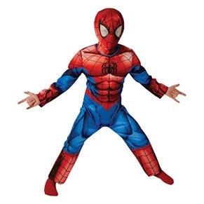 Rubies Spider-Man Deluxe último Clásico - Disfraz Infantil - Medio - 116cm - Edad 5-6