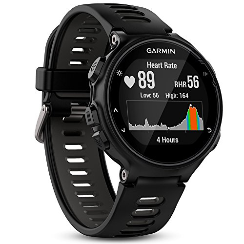 Garmin Forerunner 735XT GPS Avanzato Cardio da Polso Nero / Grigio 010-01614-06