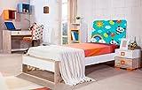 Cabecero Cama PVC Infantil oso panda globos   Varias Medidas 115x60cm   Fácil colocación   Decoración Habitación   Motivos paisajisticos   Naturaleza   Urbes   Multicolor   Diseño Elegante